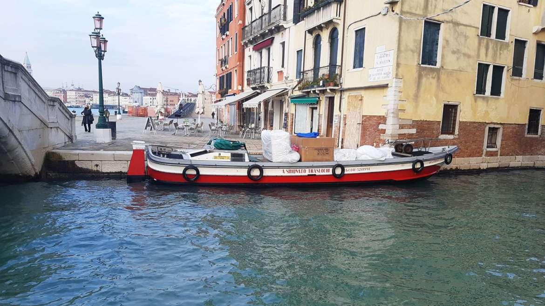 Trasloco a Venezia